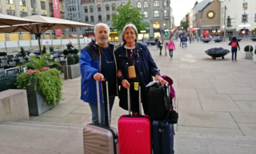 1° giorno – da Bari a Oslo – 19 giugno 2018